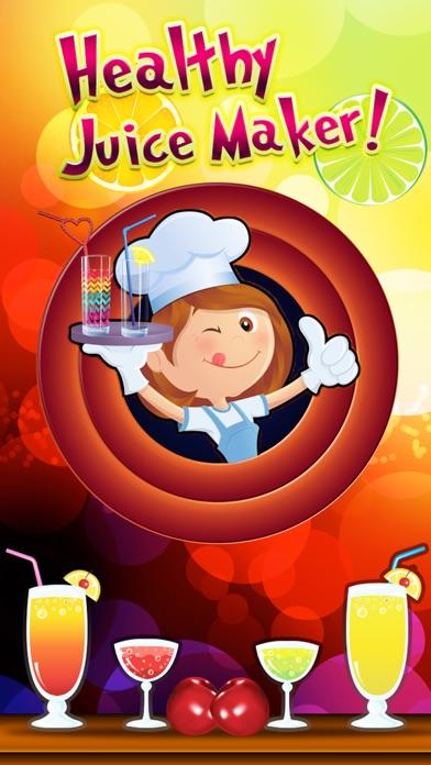 Healthy Juice Maker - Juicy Vegetable Smoothie with Orange, Apple, Carrot, Straw-Berry & Cream-y Fruitのおすすめ画像1