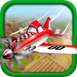 Plane Heroes - Best Free Flight Game with Easy Control and Cartoonish 3D Graphics