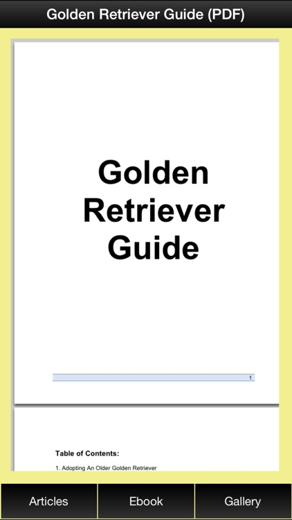 Golden Retriever Guide - Everything You Need To Know About Golden Retriever ! screenshot-2