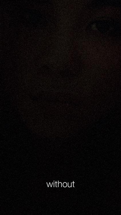 Front Flash - selfies in the dark