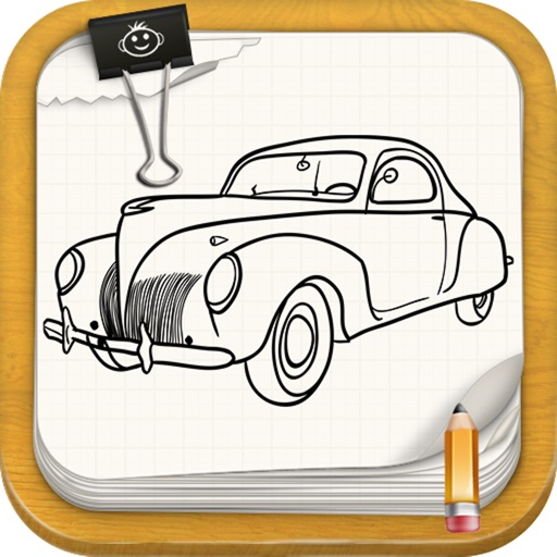 Learn To Draw Retro Cars