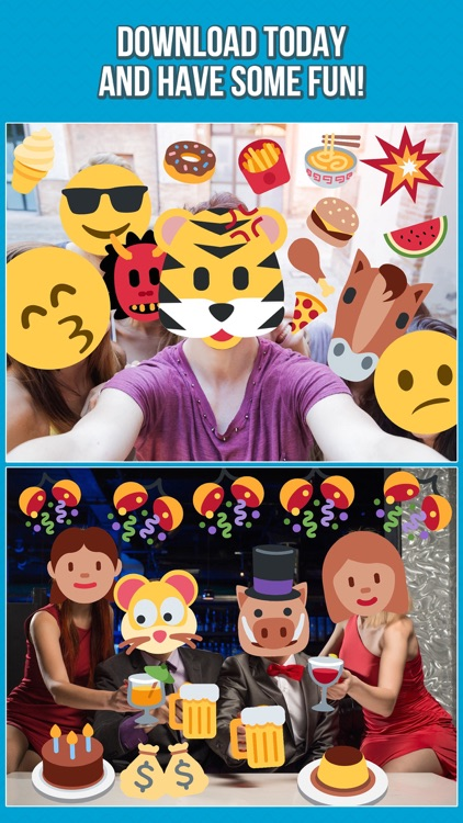Emoji Photo Editor - Add Emoticon Stickers to your Pictures screenshot-4