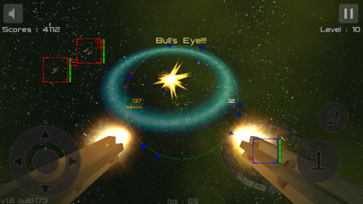 Gunner : Free Space Defender Lite screenshot four