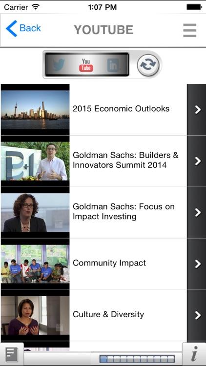 Goldman Sachs - Make an Impact