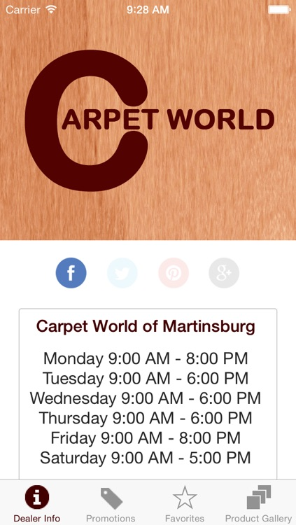 Carpet World of Martinsburg by DWS