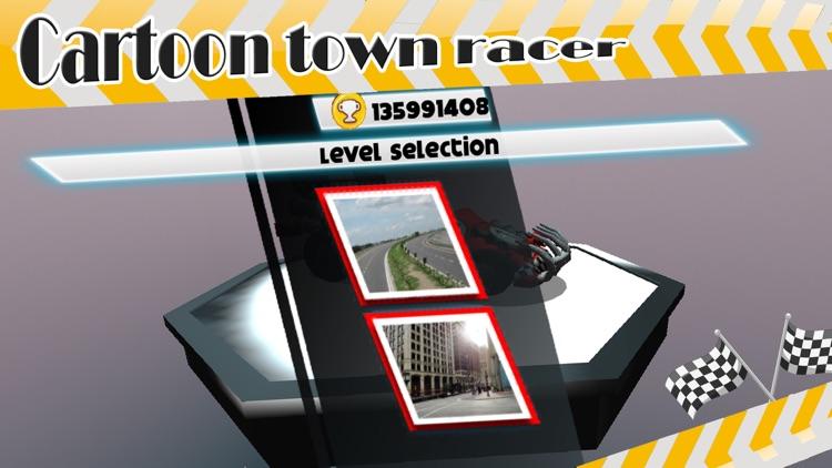 ` 3D Cartoon Town Racer Racing Simulator Free game