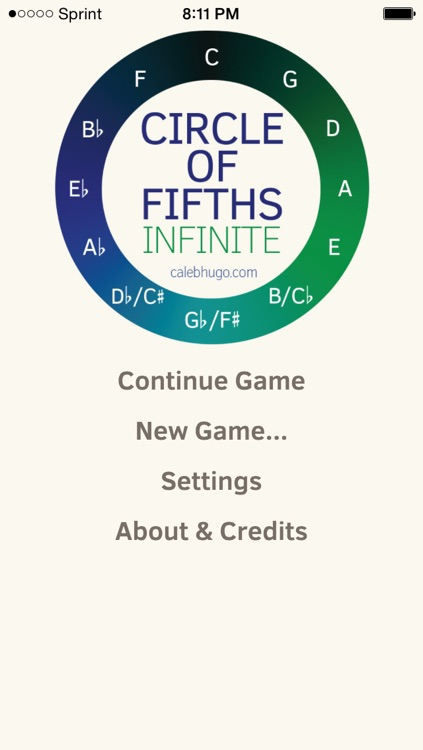 Circle of Fifths - Infinite!