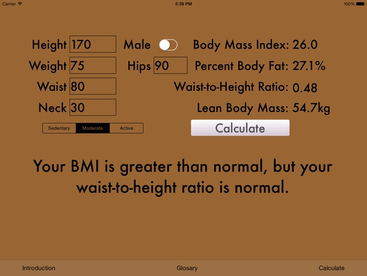BMI & Body Fat screenshot-0
