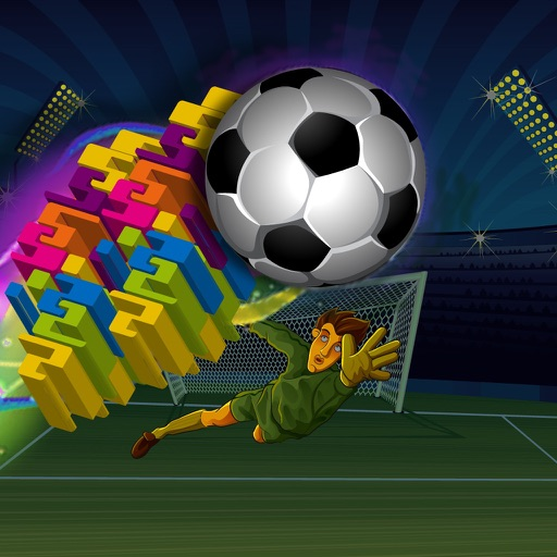 Addictive Blocks : Break Temple Of Soccer