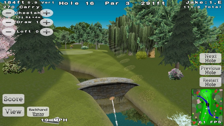 Disc Golf 3D screenshot-2