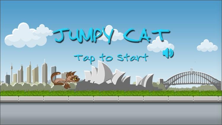 Jumpy Cat Travel screenshot-0