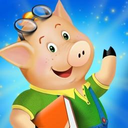 The three little pigs - preschool & kindergarten fairy tales book for kids