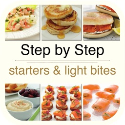 Cooking Step by Step - Starters and Light Bites for iPad