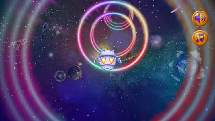 Space Rings Race FREE screenshot-3