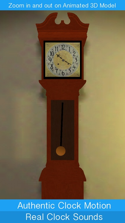 Grand Clock - Chiming Grandfather Clock screenshot-0