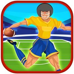 A Football Athlete Goalkeeper Rescue - Quarterback Vengeance