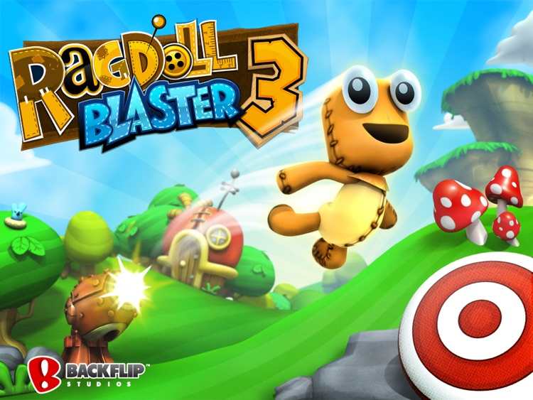 Ragdoll Blaster 3 HD screenshot-0