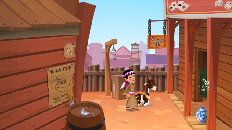 The Amazing Quest, the forgotten treasure - An adventure game for kids screenshot-0