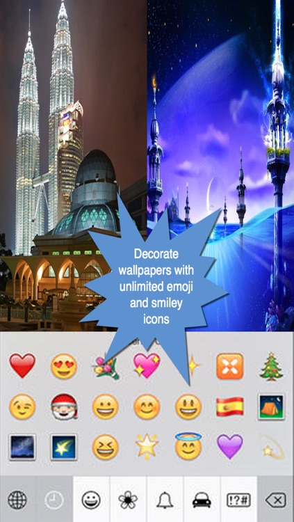Islamic Wallpaper Maker.Muslim Wallpaper Maker screenshot-3
