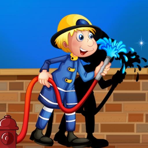 Активный! Shadow Игра Для Детей, Чтобы Учиться И Играть С Пожарными