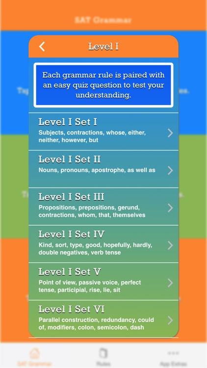 SAT Grammar Prep