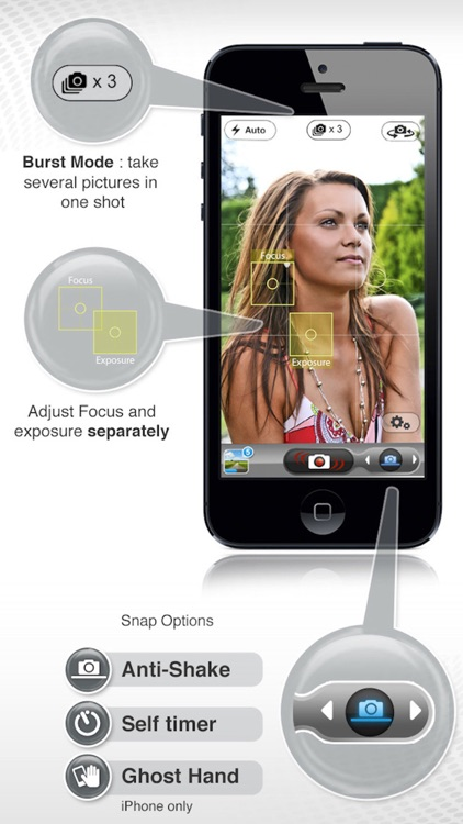 PicItEasy PRO – Burst Camera with Timer, Stabilizer and Anti-Shake screenshot-1
