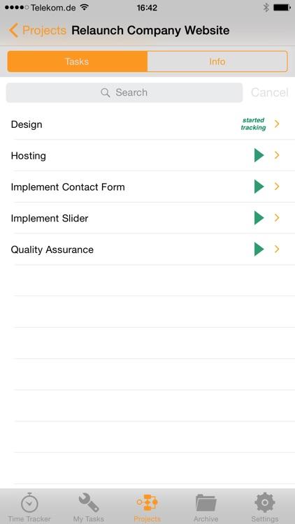 ERPAL Time Tracker screenshot-4