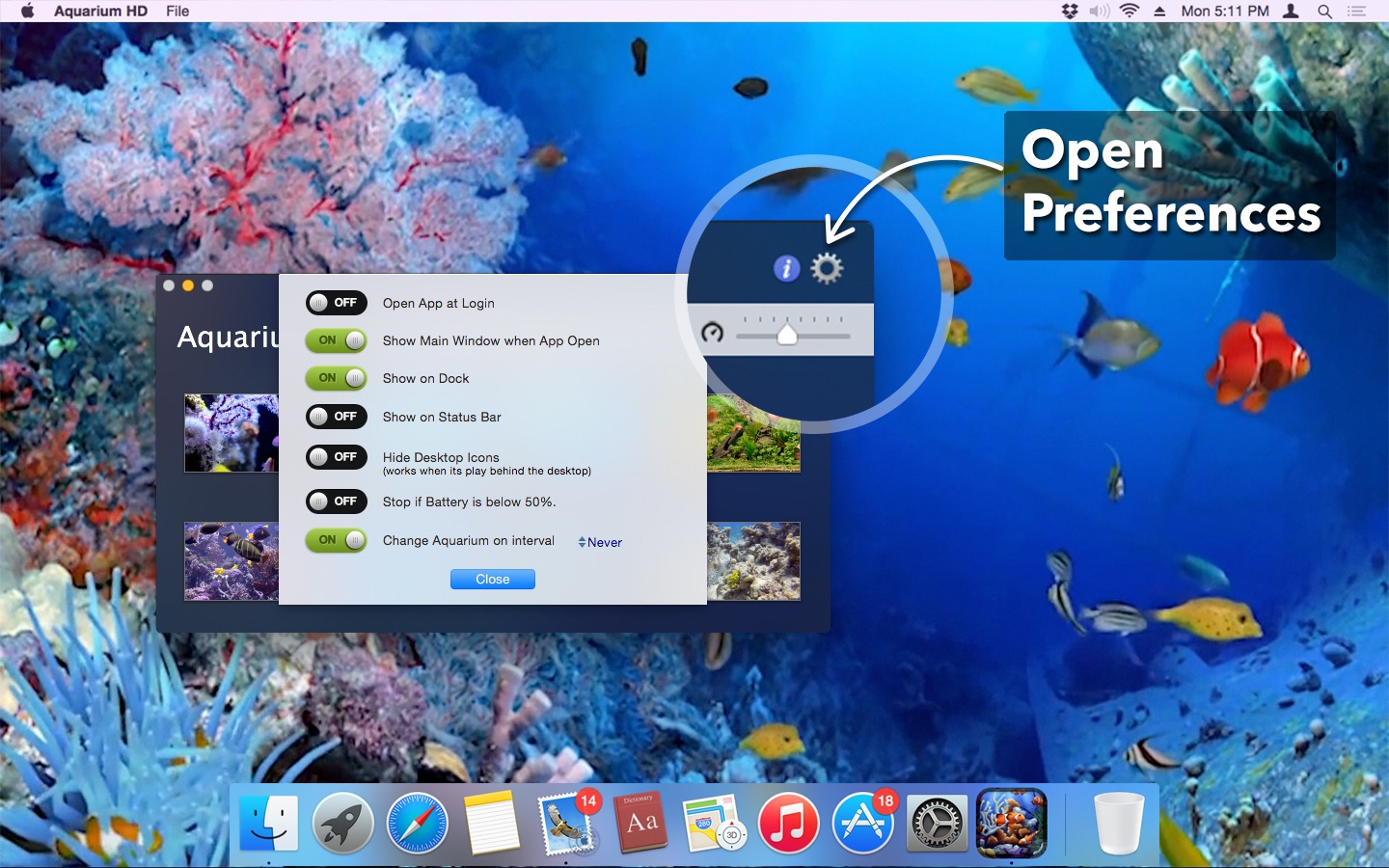 ‎Aquarium HD on the Mac App Store
