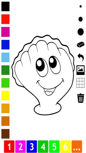 Activo! Libro Para Colorear Para Los Niños Sobre la Vida Marina ...