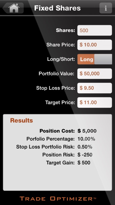 Trade Optimizer: Stock Position Sizing Calc Calculator - AppRecs