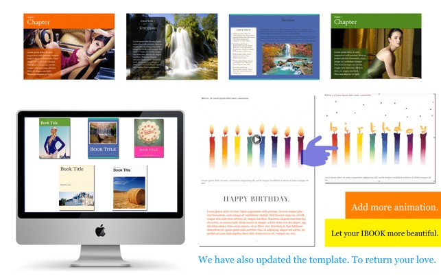 Template Set for iBooks Author on the Mac App Store