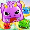 Jelly Dragon Pop - Castle Blitz Match 3 Puzzle Game