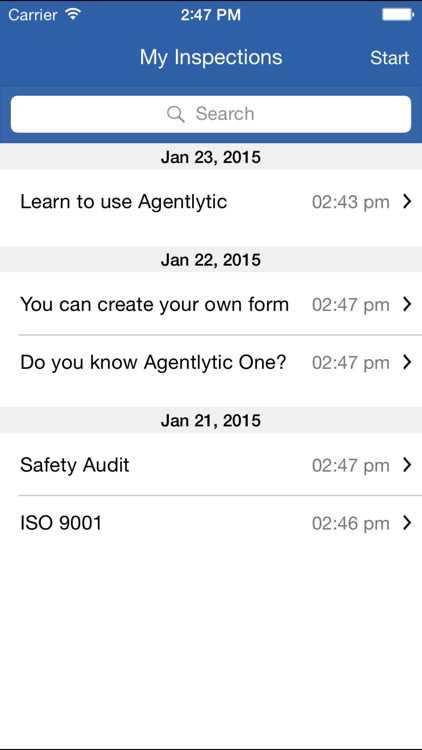Agentlytic One: Customizable Outdoor Inspections forms and checklist
