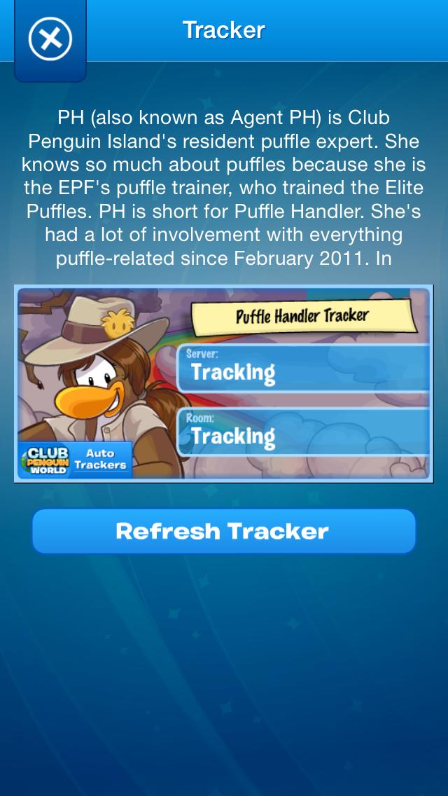 Trackers For Club Penguin screenshot three