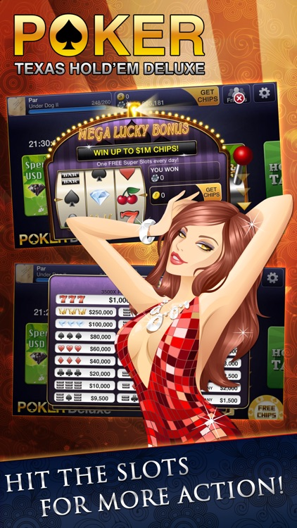 Texas HoldEm Poker Deluxe screenshot-4