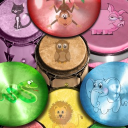 Free Drum Game with Animal Sounds