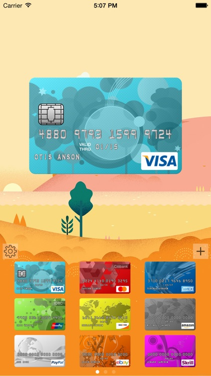 CardFolio - Credit card and password manager screenshot-0