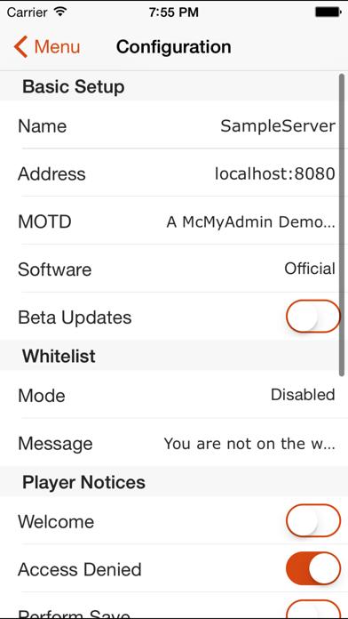 McMyAdmin Mobile for Minecraft Server Adminsのおすすめ画像3