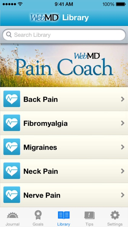 WebMD Pain Coach screenshot-3