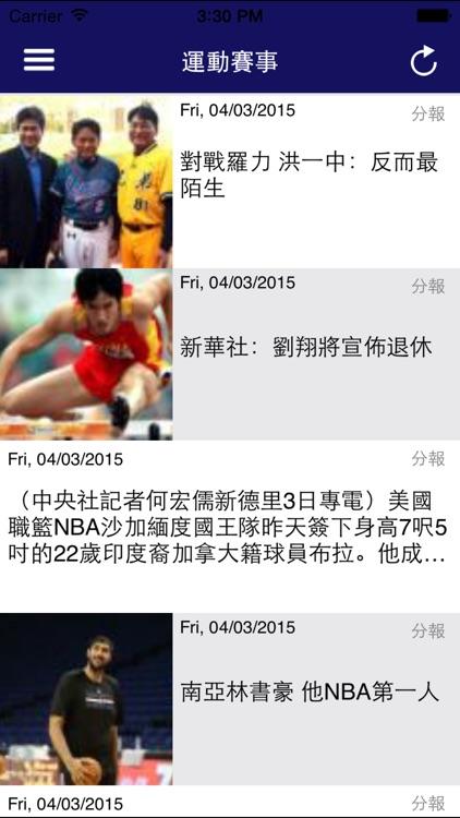台灣新聞網報 - 最新! 最快! Taiwan News screenshot-3