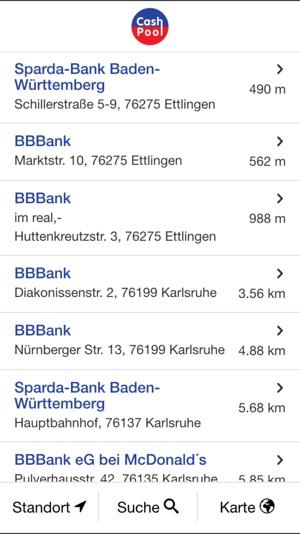 CashPool – Geldautomaten im App Store on