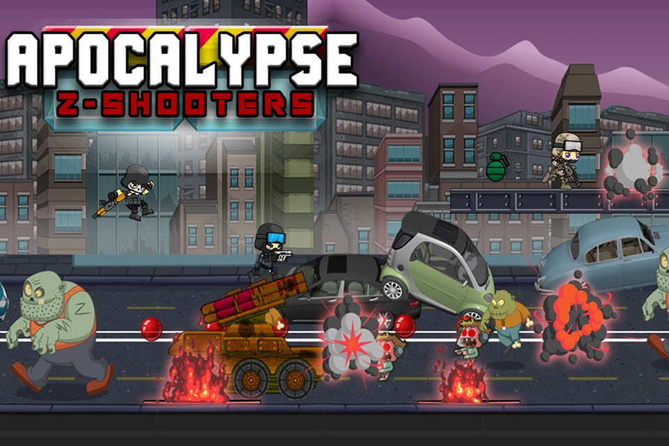 Apocalypse Z Shooters – Special Agent Killers on a Secret