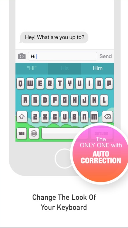 FancyKeyboard for iOS 8 - customize your keyboard with cool themes and backgrounds