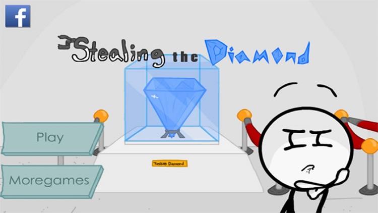 Stealing The Diamond - Stickman Edition