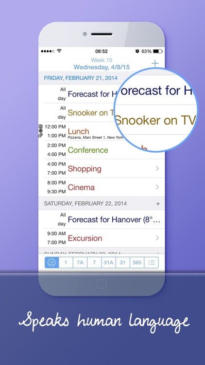 miCalendar Pro - Smart Calendar and Task Manager screenshot-4