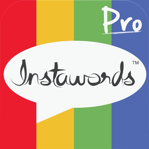 InstaWords Pro - Add Text Over Your Photos or Make Them Into Beautiful Pictures