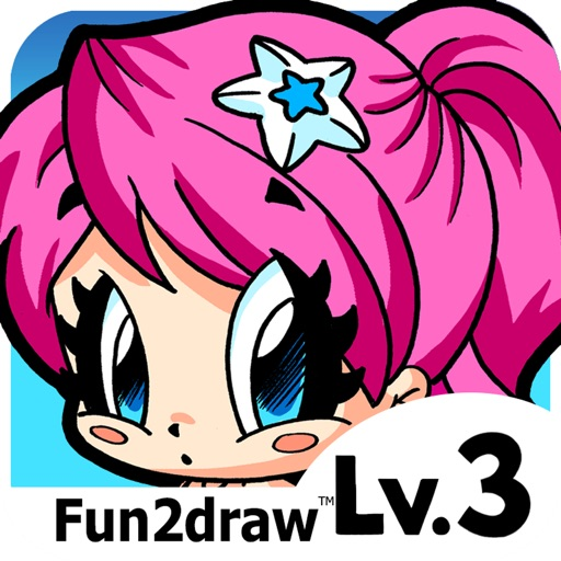 How to Draw and Color - Girls People Teens - Art Lessons - Cute Art Fun2draw™ Lv3