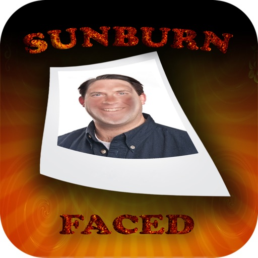 SunburnFaced - The Fake Sunburn Photo FX Booth