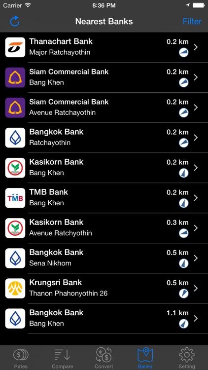 Thai Baht Exchange screenshot-3