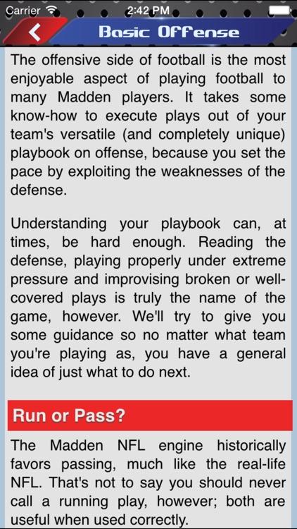 Gamer's Guide for Madden 16